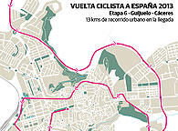Vuelta ciclista 2013- Etapa 6 - Guijueo - C&aacute;ceres