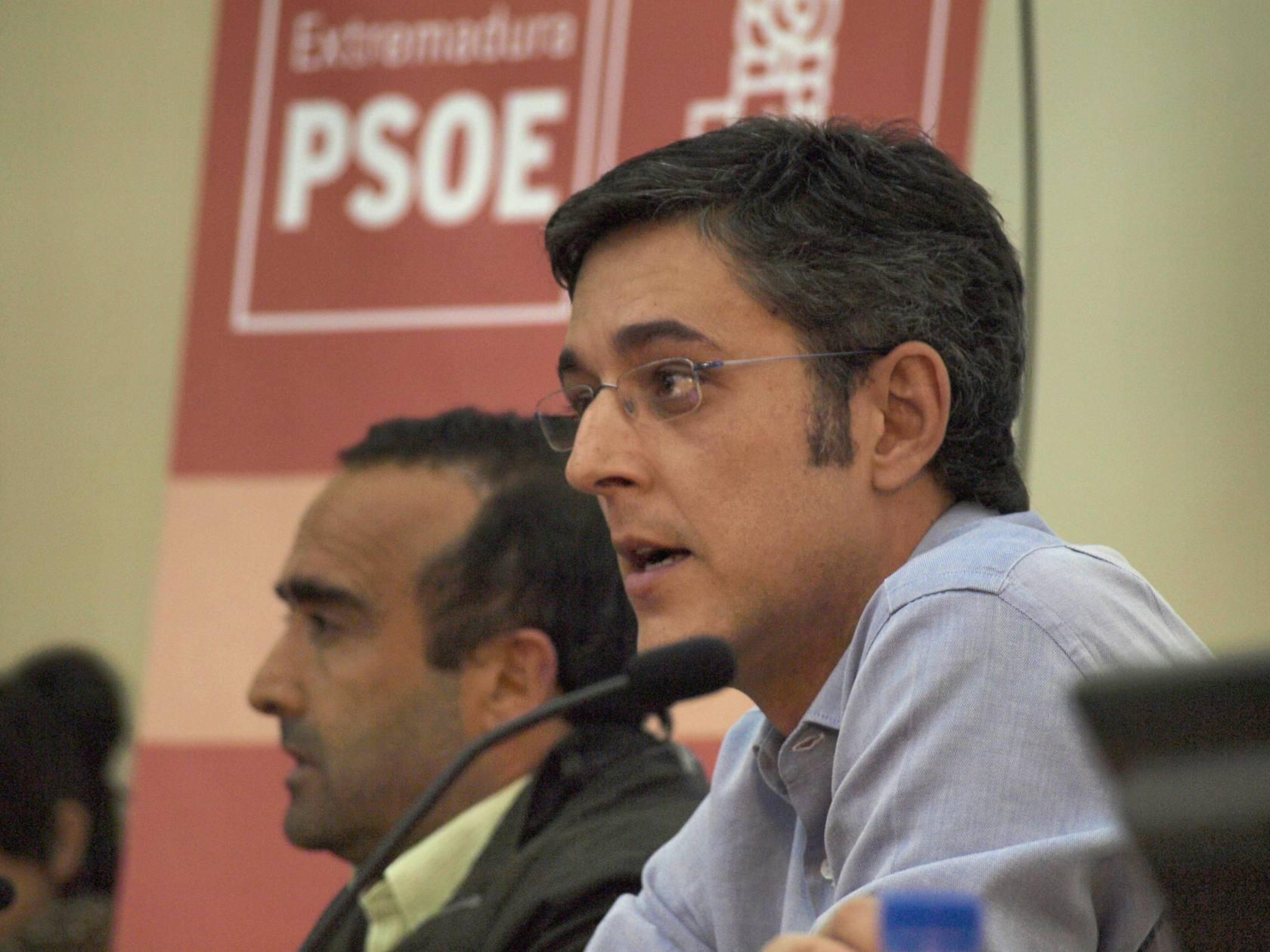 El PSOE cacere&ntilde;o abre las puertas a Eduardo Madina