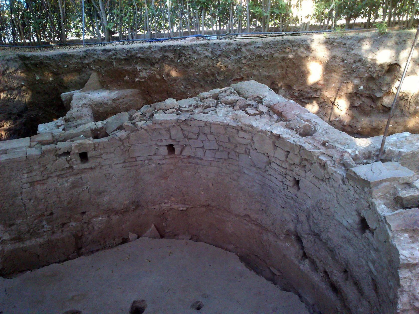 Descubren en Mérida una casa noble romana en el recinto del Teatro