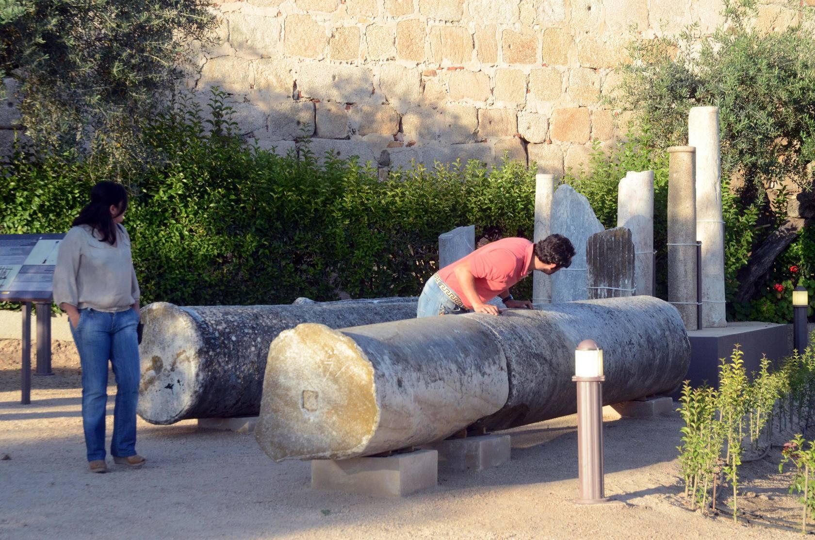 El Jardín de Antigüedades desvela los secretos de la Alcazaba de Mérida