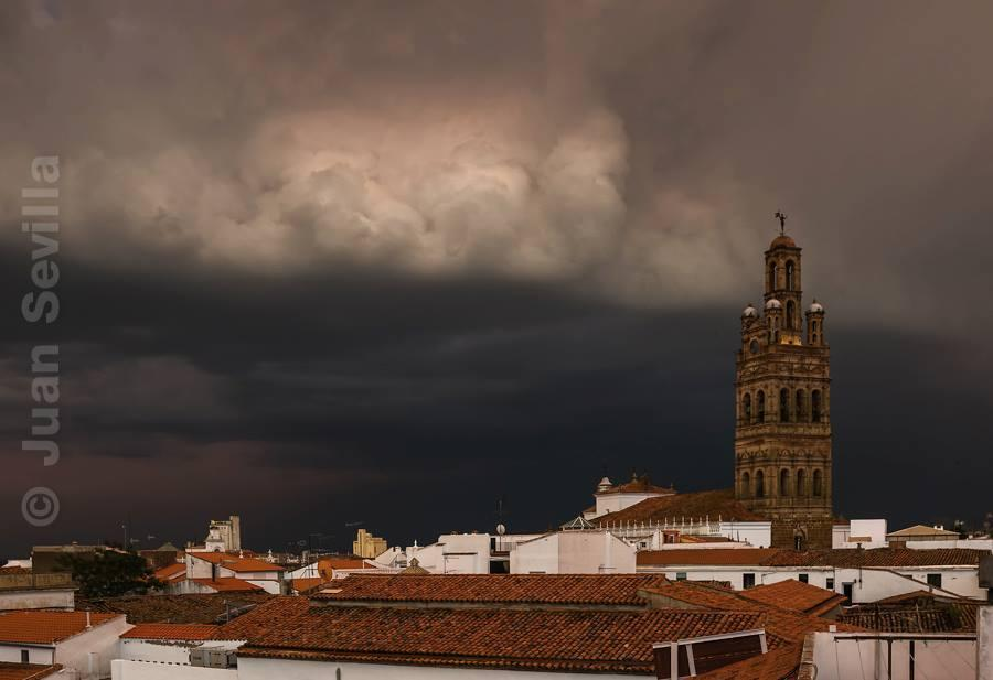 Las tormentas en Extremadura vista por los lectores