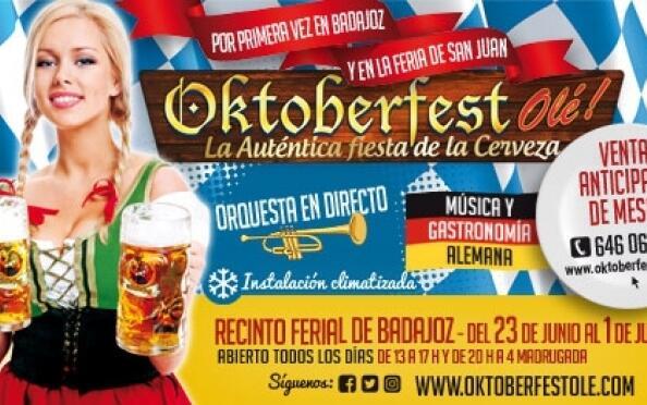 Oktoberfest: Mochila + 2 jarras1/2 litro
