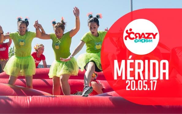 Crazy Cross, loca carrera de obstáculos hinchables