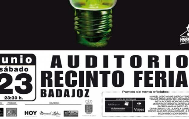Entradas Concierto ESTOPA en Badajoz