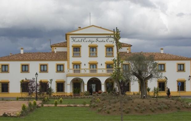 Habitación doble MP en Cortijo Santa Cruz