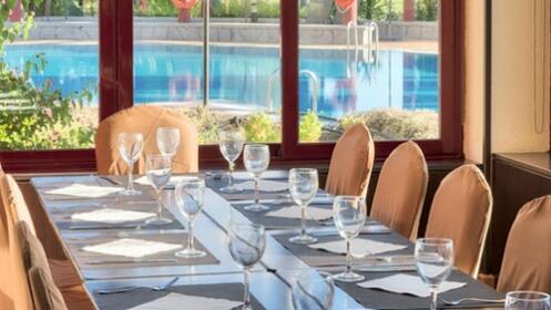 Comida o cena Ilunion Golf Badajoz