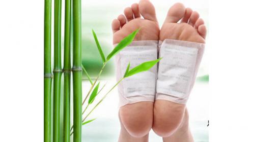 Parches desintoxicantes para pies