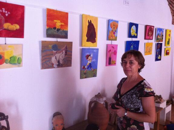 Exposici n del taller de pintura infantil en la oficia de for Oficina turismo trujillo
