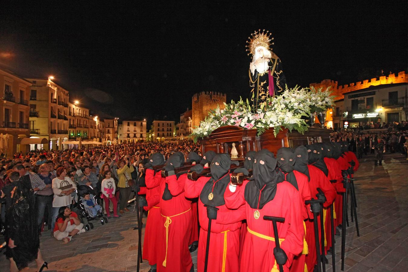 Lunes Santo en Cáceres
