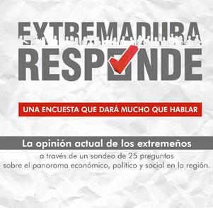 Extremadura Responde, una encuesta que dará que hablar