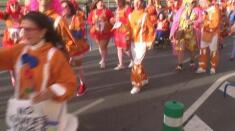 Desfile de los artefactos del Carnaval de Badajoz 2016
