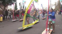 Desfile de los grupos menores del Carnaval de Badajoz 2016