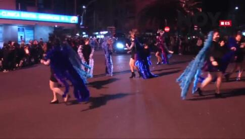 Desfile de carnaval en Cáceres