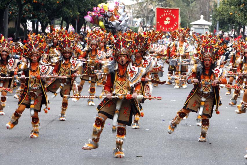 Arranca el Carnaval en Badajoz 1266225369890
