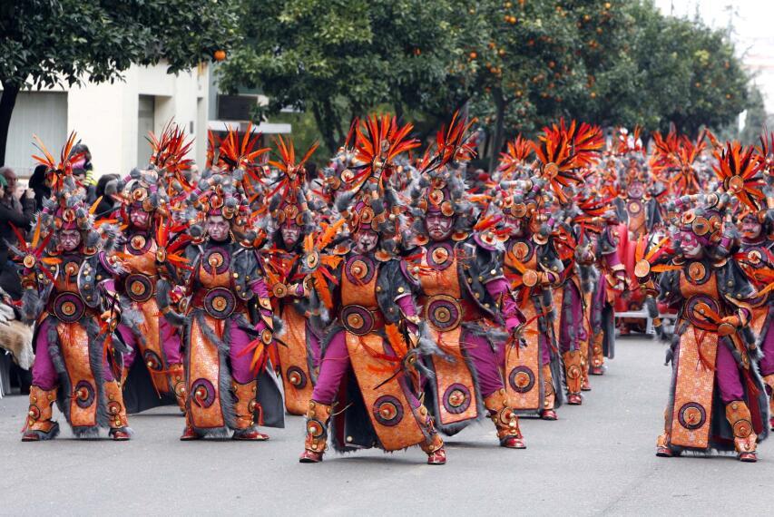 Arranca el Carnaval en Badajoz 1266225348691