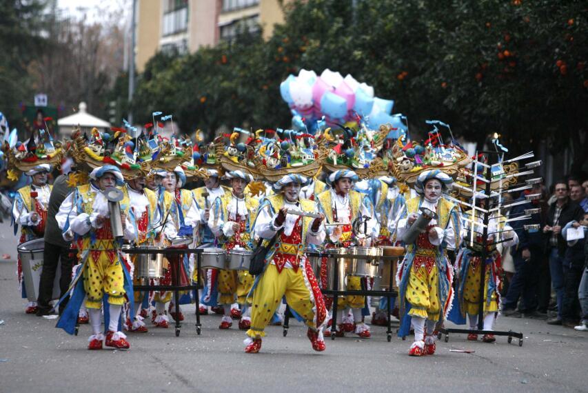 Arranca el Carnaval en Badajoz 1266224818213