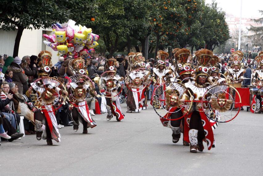 Arranca el Carnaval en Badajoz 1266225373043