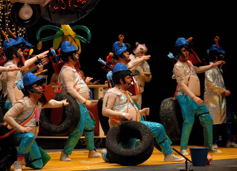 Arranca el Carnaval en Badajoz 1265336871414