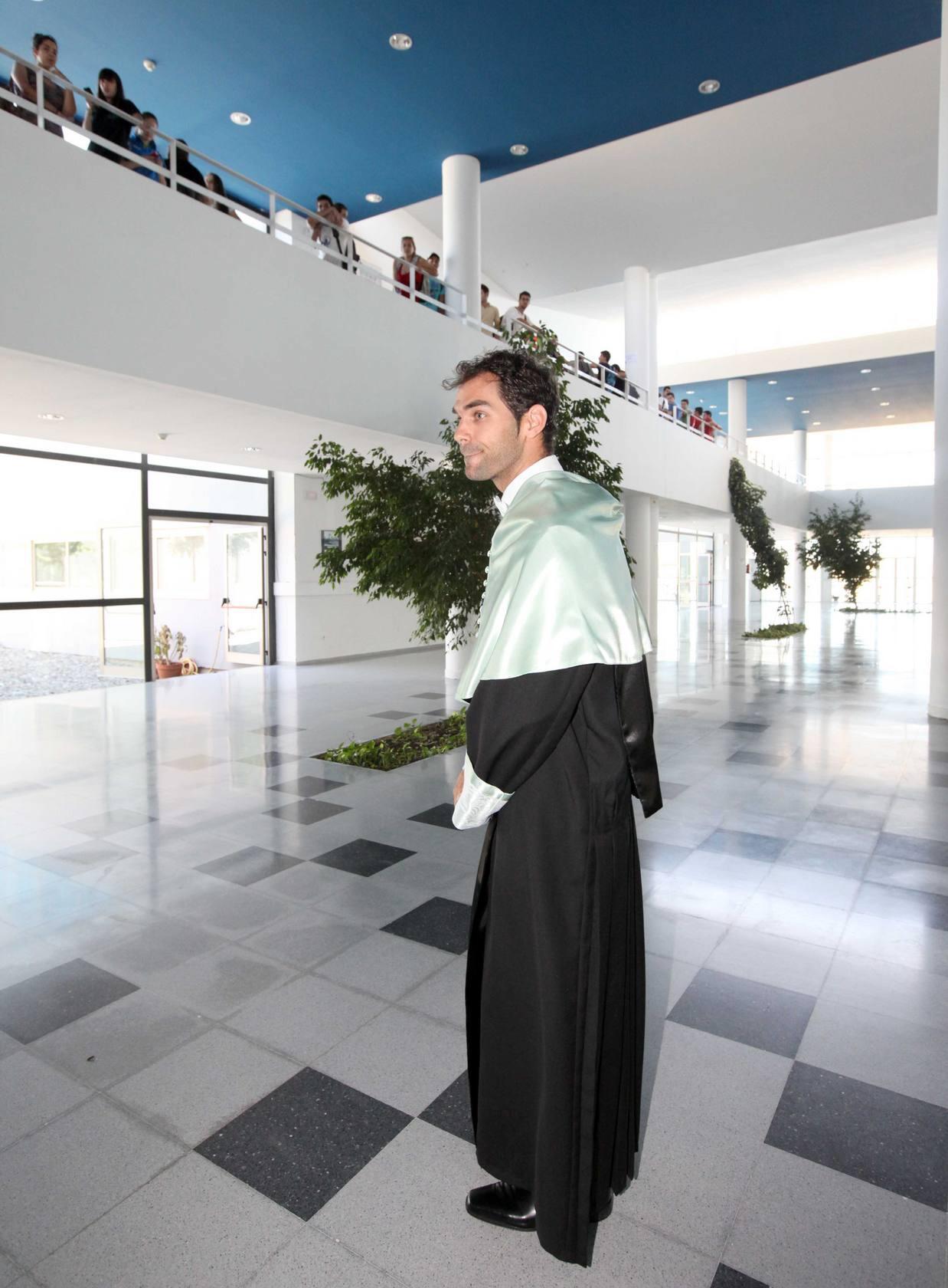 Calderón, nuevo doctor Honoris Causa de la Universidad de Extremadura