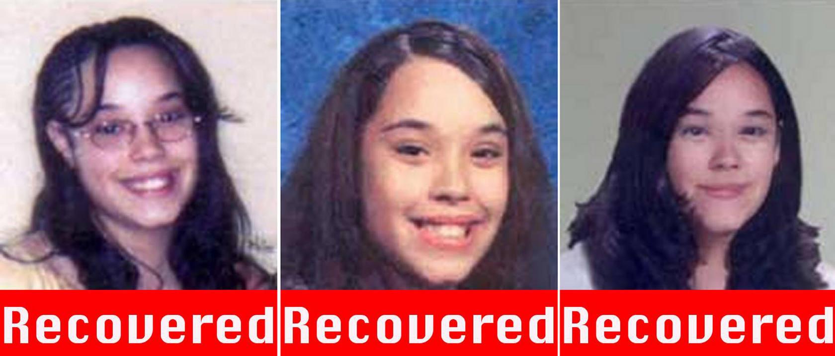 Hallan vivas a tres jóvenes desaparecidas hace una década