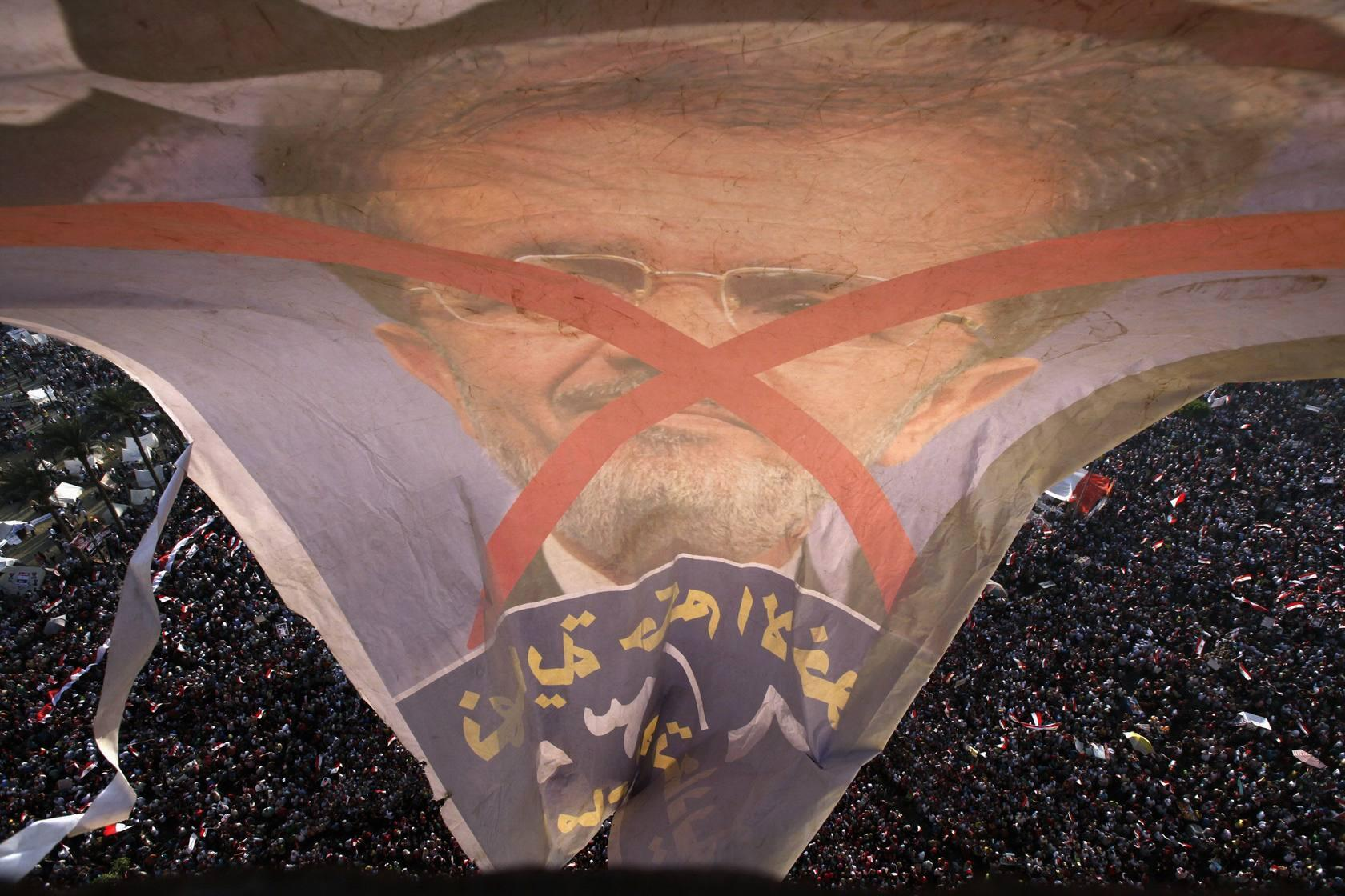 Egipto clama contra Mursi
