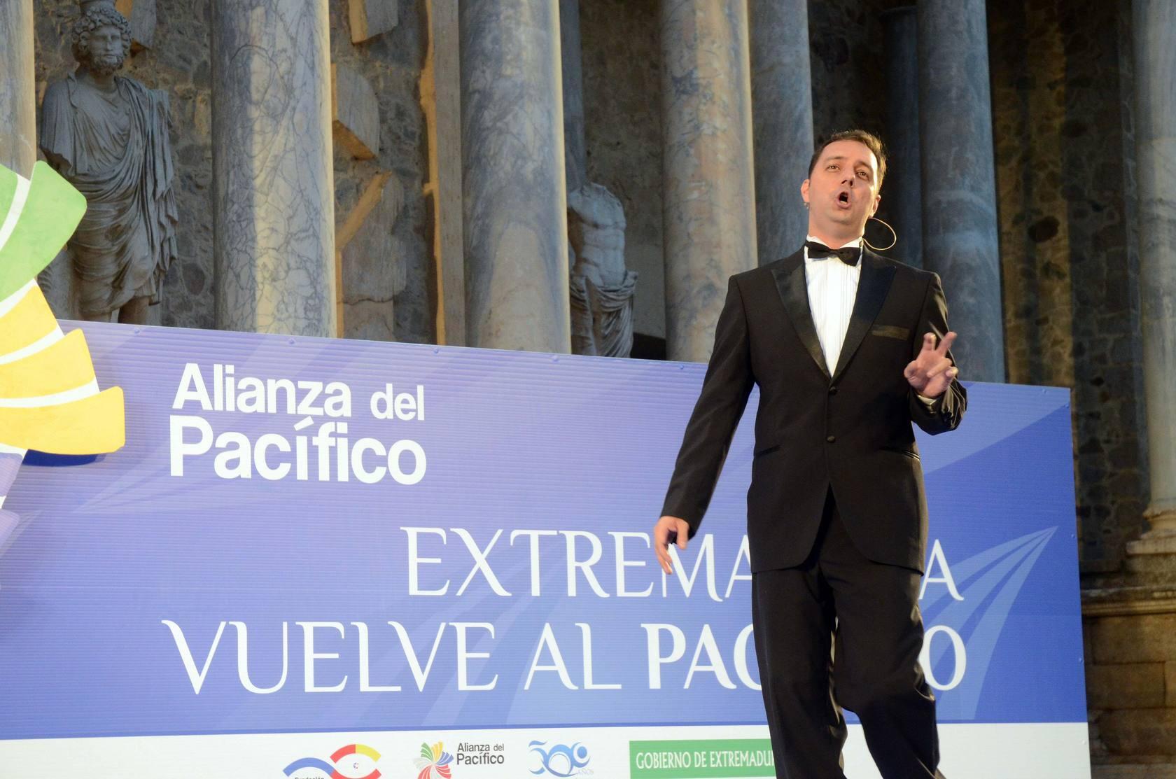 Gala lírica en el Teatro Romano por la Alianza del Pacífico