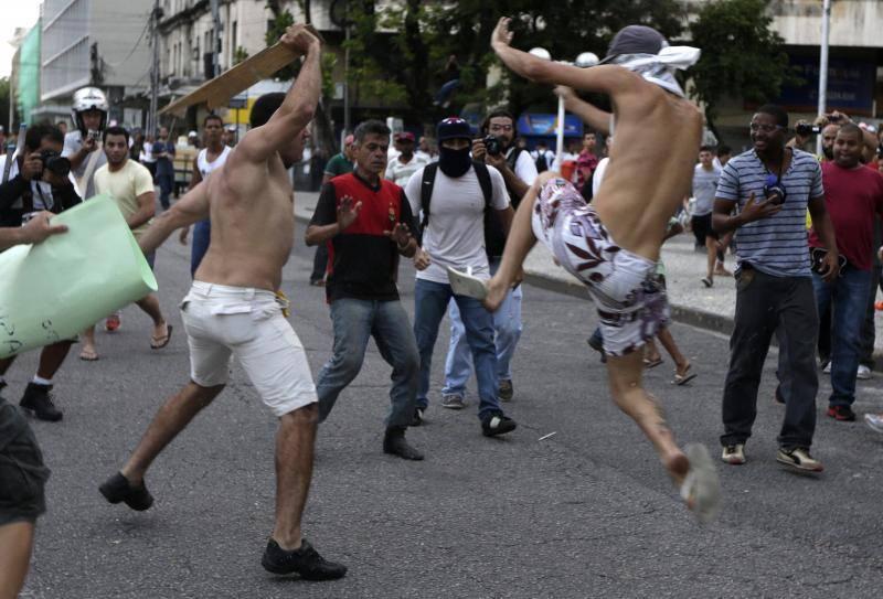 Nueva jornada de protestas en Brasil