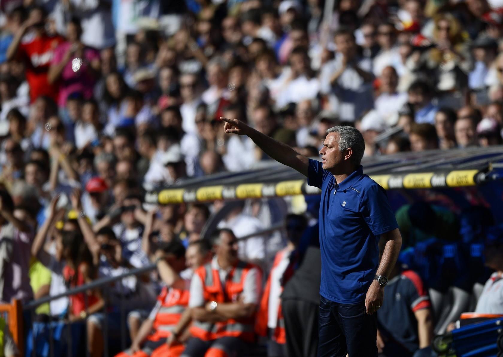 Mourinho se despide del Bernabéu