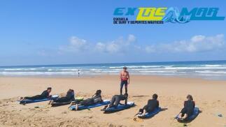 Curso de Surf 1, 3 ó 5 días