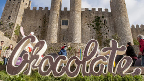 SÁBADO 4 de mayo. Festival del chocolate en ÓBIDOS y JARDÍN BUDDHA EDÉN