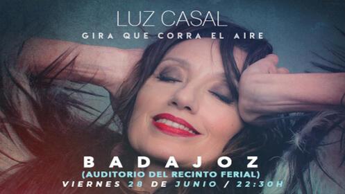 """Entrada concierto LUZ CASAL en Badajoz. Tour """"Que Corra El Aire"""""""
