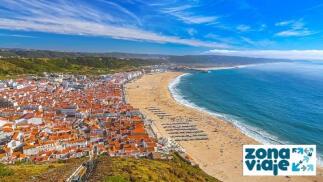 Puente de Agosto. Escapada a la Playa de Nazaré (Portugal).