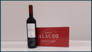 Caja de 6 botellas de vino tinto V Laude