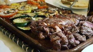 Exquisito menú en Restaurante Asador PAPABUEY