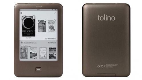 Libro electrónico Tolino Shine - E-reader