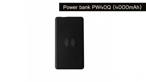 Cargador inalámbrico Power bank PW40Q (4000mAh)