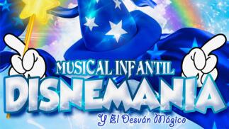 Entrada musical DISNEMANIA Y EL DESVÁN MÁGICO (Badajoz)