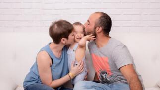 Sesión de fotos en estudio Especial Día del Padre