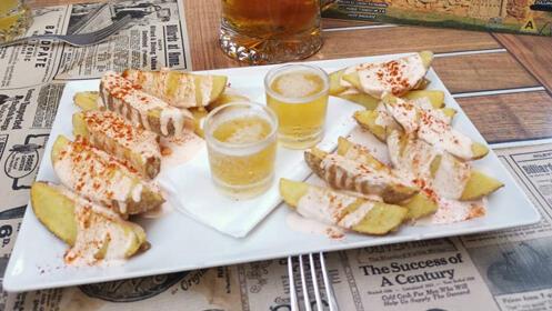 Menú para 2 personas en el centro de Badajoz, incluye bebida