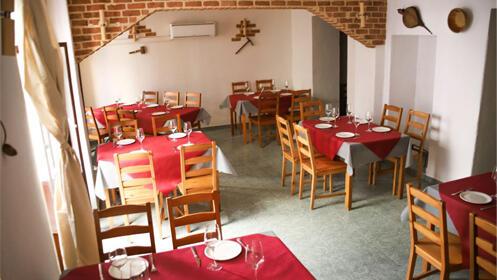Menú en el centro de Badajoz, incluye bebida.