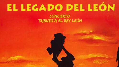 Entrada para El Legado del León, en Mérida
