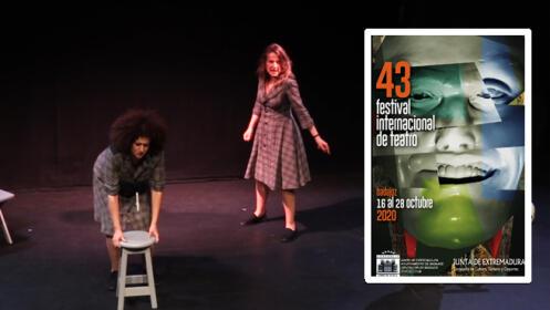"""Entrada para. """"EL VIENTO ES SALVAJE""""-  43 Festival de Teatro de Badajoz"""