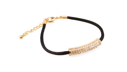 Pulsera Tailandia Gold con Swarovski Crystals