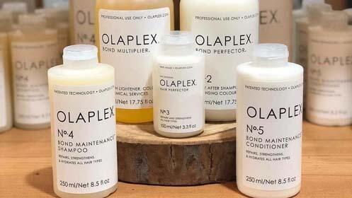 Tratamiento reparador Olaplex + marcado, en Mérida