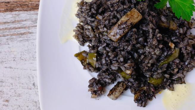 Exquisito menú de arroz + entrante, bebidas y postre