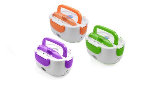 Fiambrera eléctrica mix colores