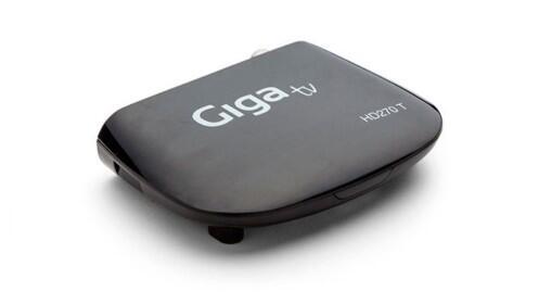 Mini sintonizador TDT HD y reproductor multimedia Giga TV