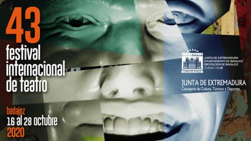 """Entrada para """"COMEDIA EN NEGRO""""-. 43 Festival de Teatro de Badajoz"""
