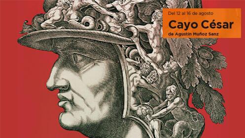 Entrada CAVEA IMA CENTRAL ALTA para Cayo César. Festival de Teatro de Mérida