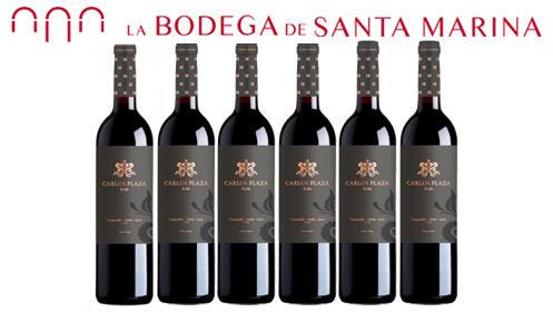Caja de 6 botellas de vino tinto  CARLOS PLAZA SELECCIÓN